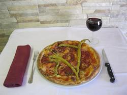Pizza essen in Sauerlach